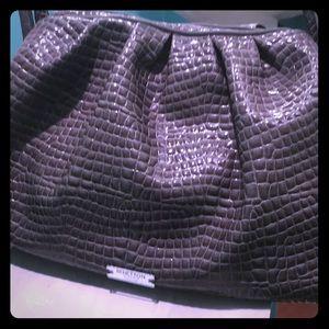 Grey bag by Benetton